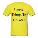 Expect Things - Unisex - yellow