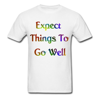 Expect Things - Unisex - white