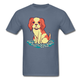 Happy Puppy 2 - Unisex - denim