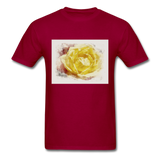 Yellow Rose - Unisex - dark red