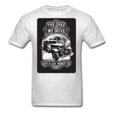 The Cars We Drive - light heather grey