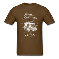 Home the Place Where I belong - Men's - brown