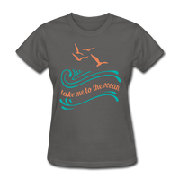 Take Me to the Ocean - 3 - Women's - charcoal