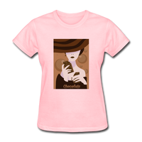 A Chocolate Eating Classy Lady - Women's - pink