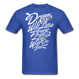 Dream As If - Men's - royal blue