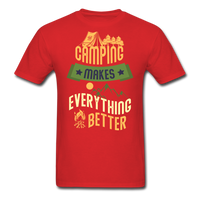 Camping Makes Everything - Unisex - red