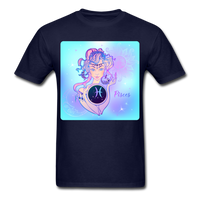Pisces Lady on Blue - Unisex - navy
