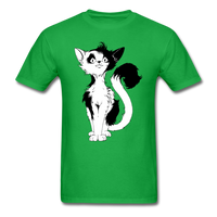Black Tailed Cat - Unisex - bright green