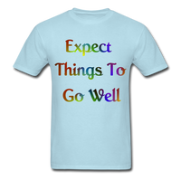 Expect Things - Unisex - powder blue
