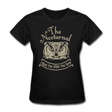 Nocturnal Owl - black