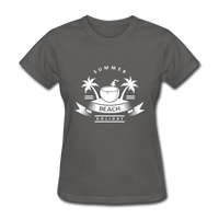 Summer Beach Holiday - Women's Tee - charcoal