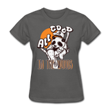 All Good in the Woods Panda - Women's - charcoal