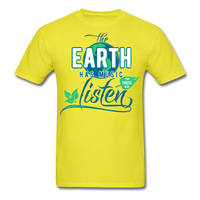 The Earth Has Music - Men's Tee - yellow