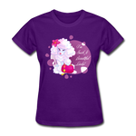 Beautiful Lady Poodle - Women's - purple