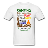 Camping Enjoy Each Other - Unisex - white