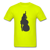Lady with a Cello - Men's - safety green