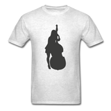 Lady with a Cello - Men's - light heather grey