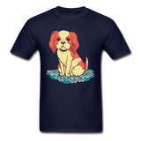 Happy Puppy 2 - Unisex - navy