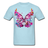 Abstract Butterfly - powder blue