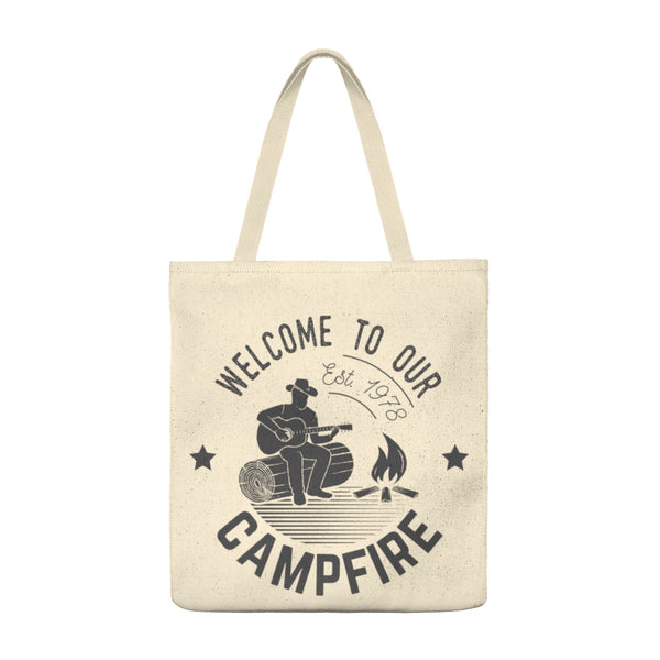 Welcome Campfire - Tote