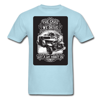 The Cars We Drive - powder blue