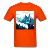 Lady in Pink Hiking - Unisex - orange