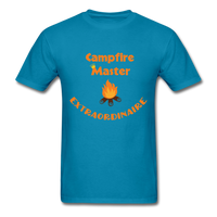 Campfire Master Extraordinaire Men's T-Shirt - turquoise