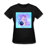 Virgo Lady on Blue - Women's - black