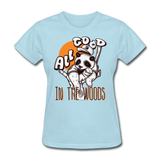 All Good in the Woods Panda - Women's - powder blue