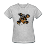 Cat in a Pocket - Women's - heather gray