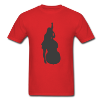 Lady with a Cello - Men's - red