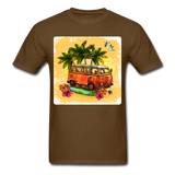 VW Bus Surfing - Unisex - brown
