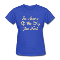 Be Aware - Women's - royal blue