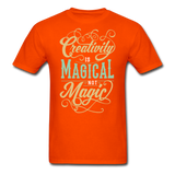 Creativity is Magical not Magic - Men's - orange