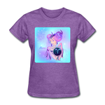 Aries Lady on Blue - Women's - purple heather