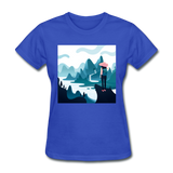 Lady in Pink Hiking - Women's - royal blue