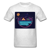 Camping on the Lake - Unisex - light heather grey