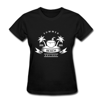 Summer Beach Holiday - Women's Tee - black