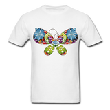 Patterned Butterfly - Men's - white