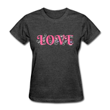 Love Design - Women's - heather black