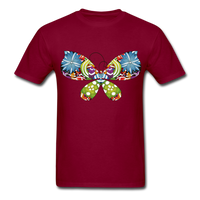 Patterned Butterfly - Men's - burgundy