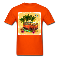 VW Bus Surfing - Unisex - orange
