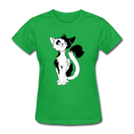 Black Tailed Cat - Women's - bright green