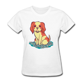 Happy Puppy - Women's - white