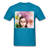 Beautiful Lady Butterfly - Unisex - turquoise