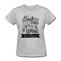 Beneath the Stars - Women's - heather gray