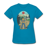 The Journey Begins2 - Women's - turquoise