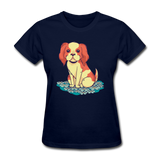 Happy Puppy - Women's - navy