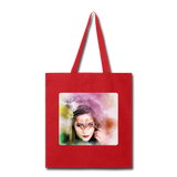 Beautiful Lady Butterfly2 - Tote - red