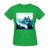 Lady in Pink Hiking - Women's - bright green